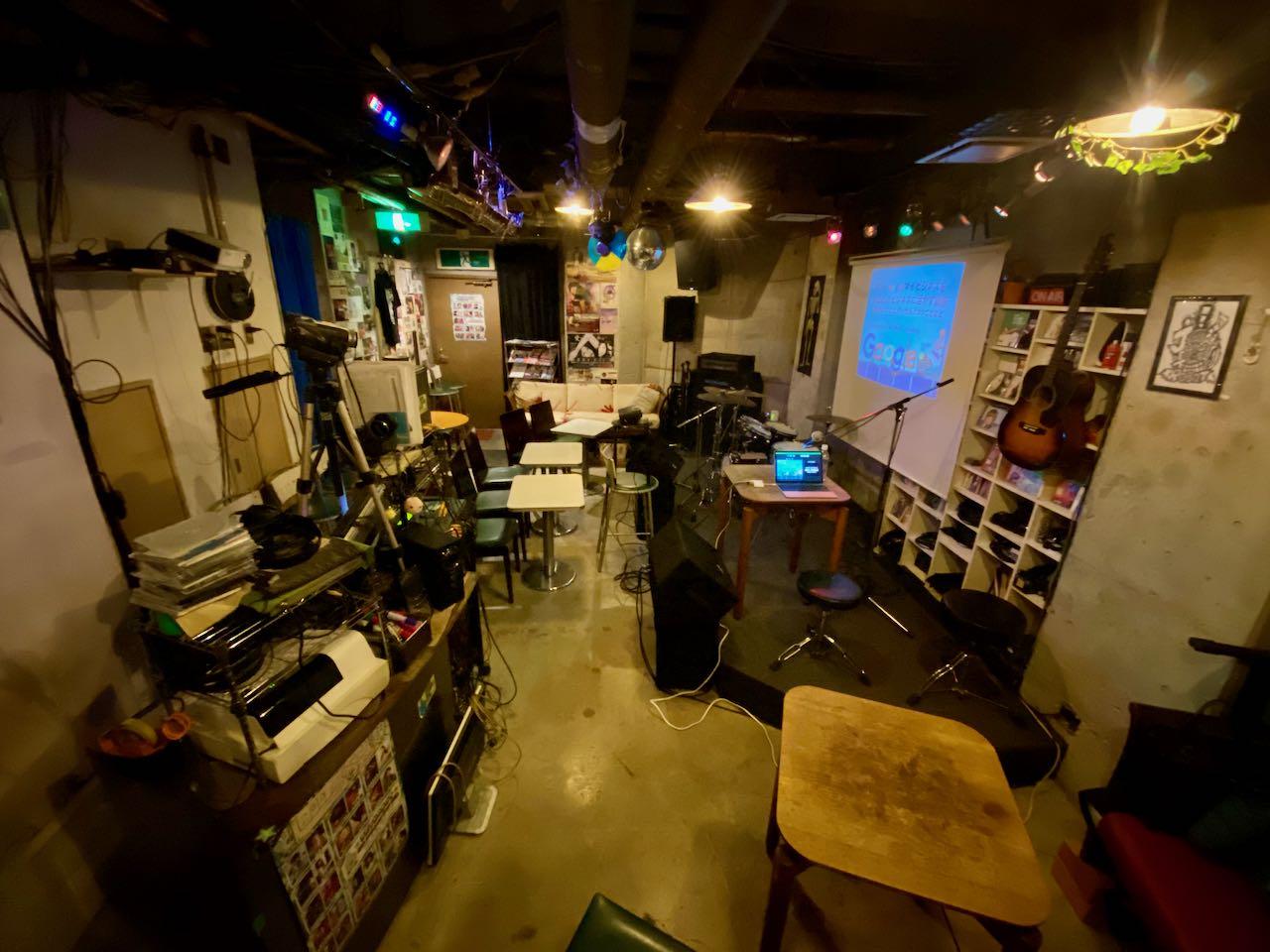 新宿区西早稲田 Live House JETROBOT